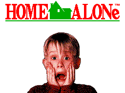 Home Alone (Europe) Title Screen